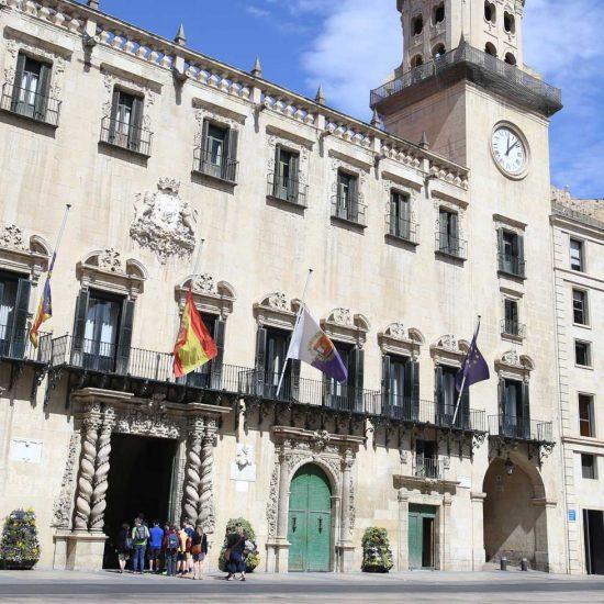 Alicante Ayuntamiento Rutas en Altea